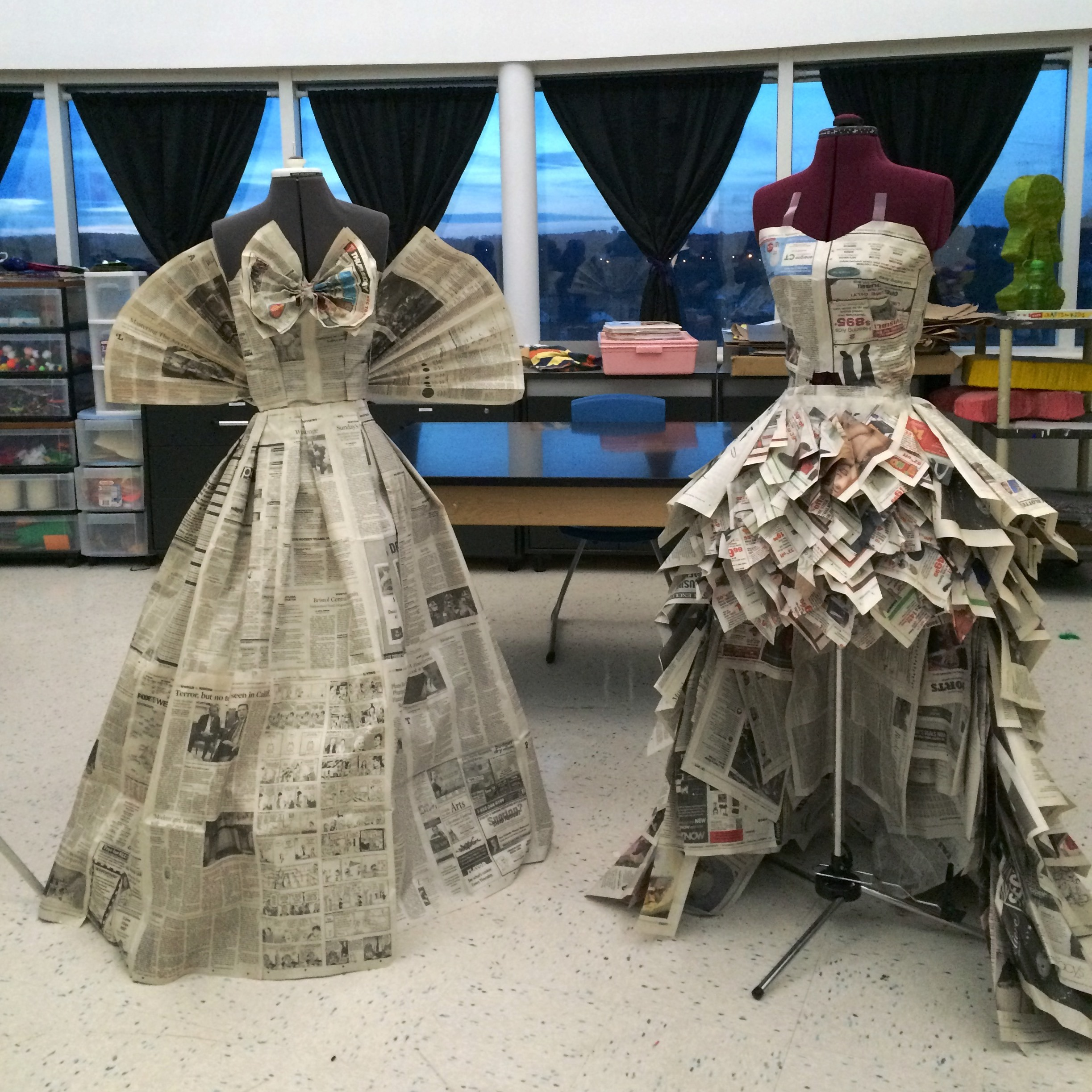Rhs Students Learn Fashion Design Klingberg Family Centers